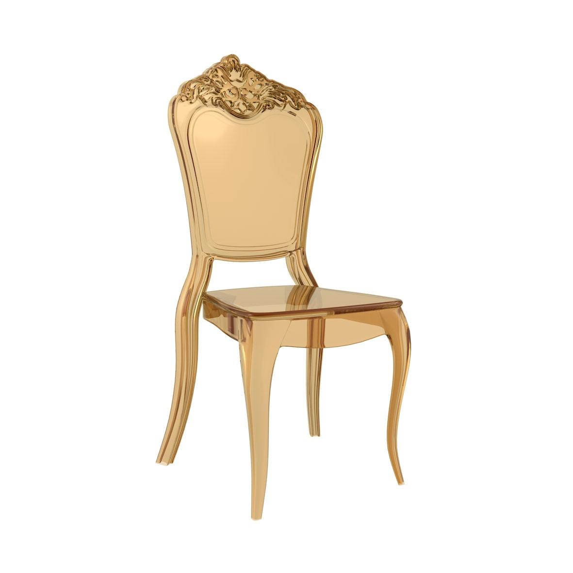 Cadeira Venezia Pocarbonato Âmbar
