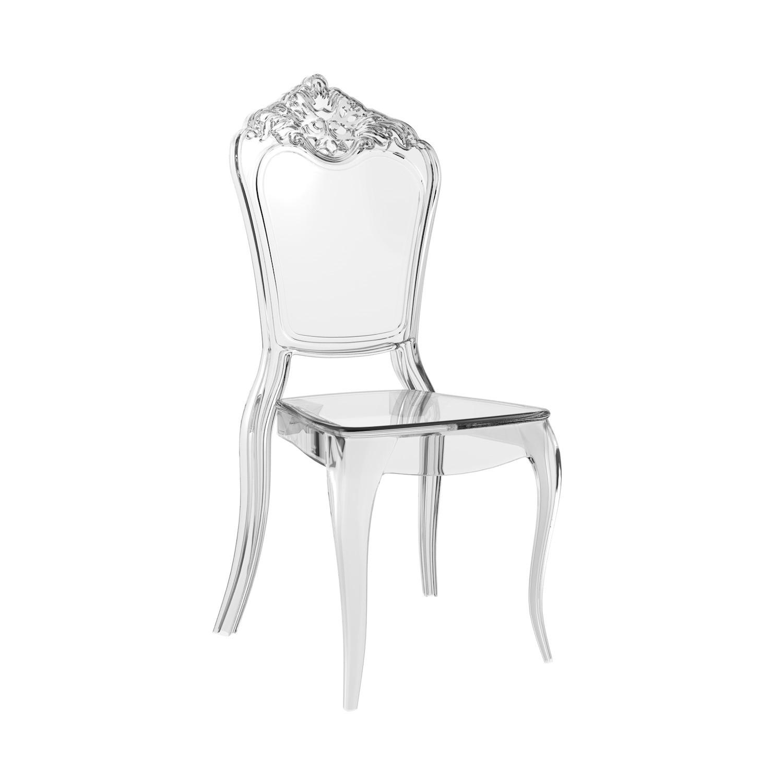 Cadeira Venezia Policarbonato Cristal