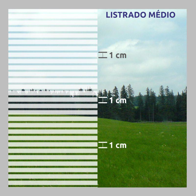 Outlet - Película Solar Listrado Médio 0,75x0,90m  - TaColado