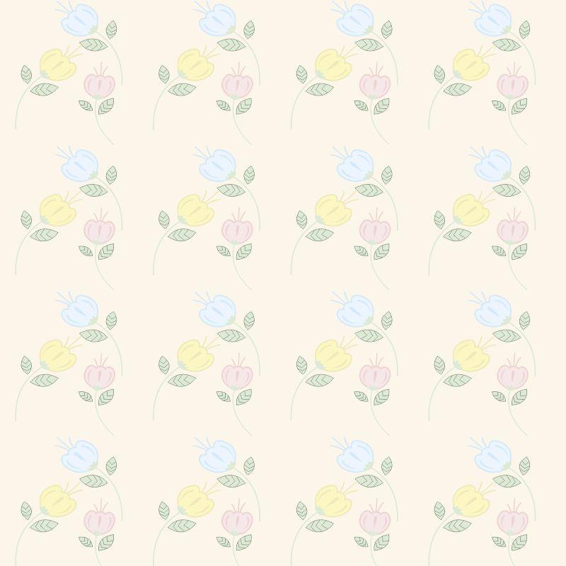 Papel de Parede Floral Alegria  - TaColado