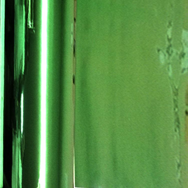 Retalho Cromado Verde