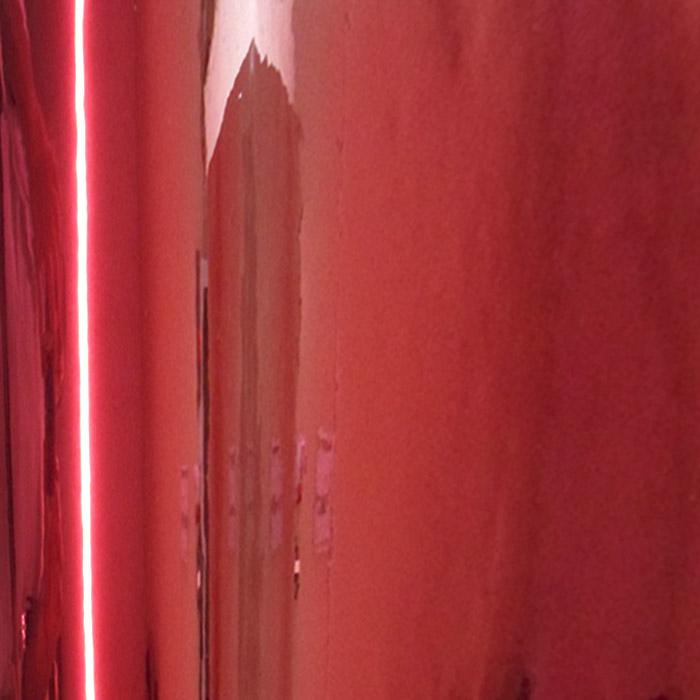 Retalho Cromado Vermelho  - TaColado