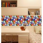 Outlet - Adesivo Decorativo Monster Party 0,45 x 2,00m