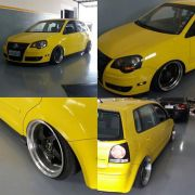 Adesivo para envelopamento automotivo Alltak Ultra Gloss Lime Yellow 1,38m