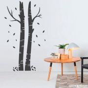 Adesivo Árvore Vidoeiro
