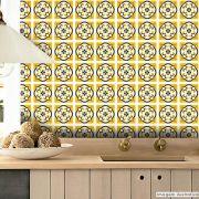 Adesivo Destacável Azulejo para Cozinha Évora