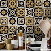Adesivo Destacável Azulejo para Cozinha Funchal