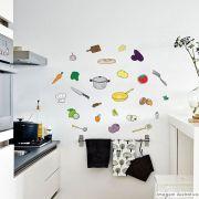 Adesivo Destacável Cozinha