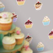 Adesivo Destacável Cupcakes