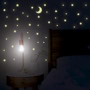 Adesivo Destacável Fotoluminescente - Brilha no Escuro