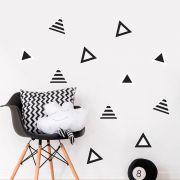 Adesivo Destacável Triângulos - Várias Cores