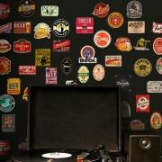 Adesivo Destacável Vintage Cerveja