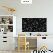 Adesivo Lousa Infantil Dinossauros 0,58x1,00m + Giz Brinde