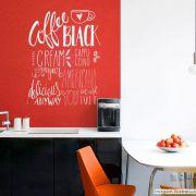 Adesivo Lousa Liso Sem Estampa Vermelho 0,50 x 2,50m + Giz Brinde