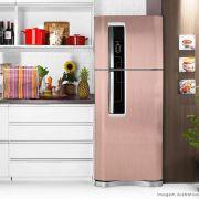 Adesivo para geladeira Escovado Rose 1,22m