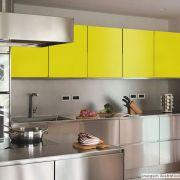 Adesivo para Móveis Brilhante Amarelo Milano 0,50m