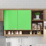 Adesivo para móveis Brilhante Verde Abacate 0,50m