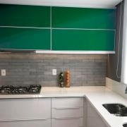 Adesivo para móveis Brilhante Verde Escuro 0,50m
