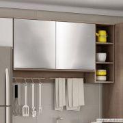 Adesivo para móveis Cromado Prata 1,00m