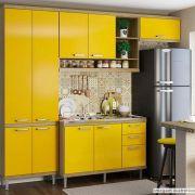 Adesivo para móveis Jateado Amarelo Taubaté 0,61m