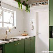 Adesivo para móveis Jateado Verde Oliva 0,61m