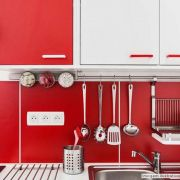 Adesivo para móveis Jateado Vermelho Malagueta 0,61m