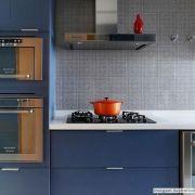 Adesivo para móveis Laca Alto Brilho Blue Metallic 0,61m