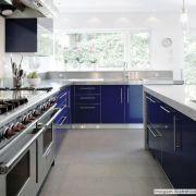 Adesivo para móveis Laca Alto Brilho Deep Blue Metallic 0,61m