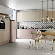 Adesivo para móveis Laca Alto Brilho Eldorado Pink 0,61m