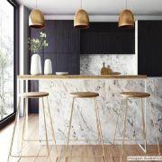 Adesivo para móveis Mármore Carrara 0,61m