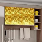 Adesivo para móveis Metallic Artístico Ouro 0,53m