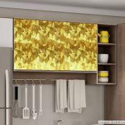 Adesivo para Móveis Metallic Artistico Ouro 1,06m