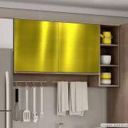 Adesivo para móveis Metallic Liso Ouro 0,53m