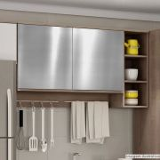 Adesivo para Móveis Metallic Liso Prata 1,06m