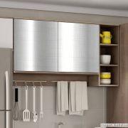 Adesivo para Móveis Metallic Telado Prata 1,06m