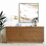 Adesivo para móveis texturizado Wood Barcelona 0,61m