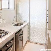Adesivo Para Vidro Box Banheiro Jateado Condessa 0,61m Prova D'Agua