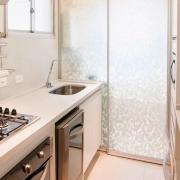 Adesivo Para Vidro Box Banheiro Jateado Condessa 1,22m Prova D'Agua