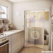 Adesivo Para Vidro Box Banheiro Jateado Decorado Brilho Prova D'Agua