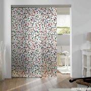 Adesivo Para Vidro Box Banheiro Jateado Decorado Folhas Prova D'Agua