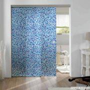 Adesivo Para Vidro Box Banheiro Jateado Decorado Ladrilho Prova D'Agua