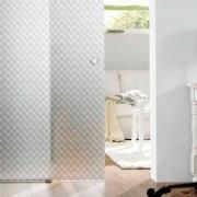 Adesivo Para Vidro Box Banheiro Jateado Dimension 0,61m Prova D'Agua