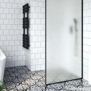 Adesivo Para Vidro Box Banheiro Jateado Losango 0,61m Prova D'Agua