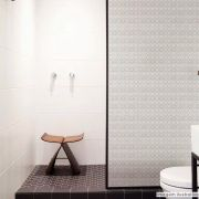 Adesivo Para Vidro Box Banheiro Jateado Micro Esferas 1,22m Prova D'Agua