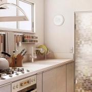 Adesivo Para Vidro Box Banheiro Jateado Pixel 1,22m