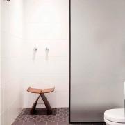 Adesivo Para Vidro Box Banheiro Jateado Sarja 1,22m Prova D'Agua