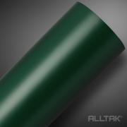 Amostra Adesivo para Móveis Fosco Verde Militar