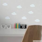 Promoção  - Adesivo Destacável Nuvens Azul