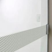 Faixa Jateada anti-impacto para vidros Losango