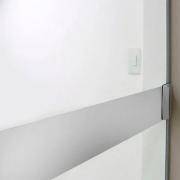 Faixa Jateada anti-impacto para vidros Perolizado